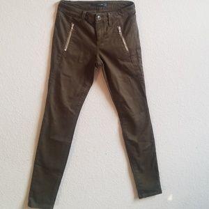 JOE'S Jeans, forest green, size 25.
